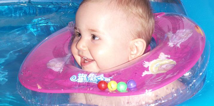 водна гимнастика за бебе